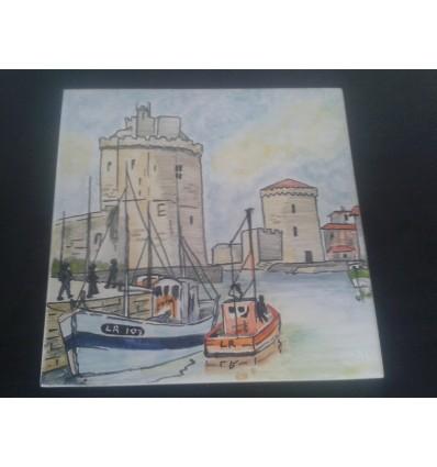 Plaque port de La Rochelle
