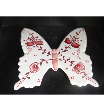Papillon chèvrefeuille bleu