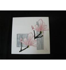 Plaque magnolia
