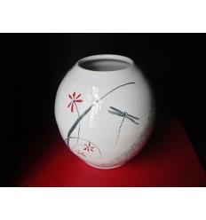 Vase boule jardin zen